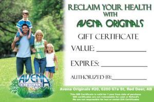 Avena - gift card